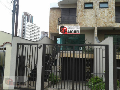 Sobrado Com 3 Dormitórios Para Alugar, 233 M² Por R$ 6.000/mês - Tatuapé - São Paulo/sp - So1017