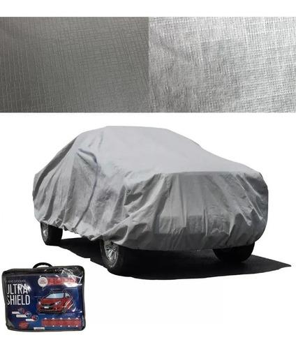 Funda Cubre Auto Impermeable Reforzado Afelpado Talle Large
