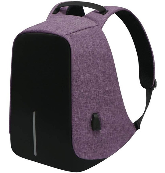 Mochila Anti-robo Usb Porta Laptop 14¨ Contra Agua
