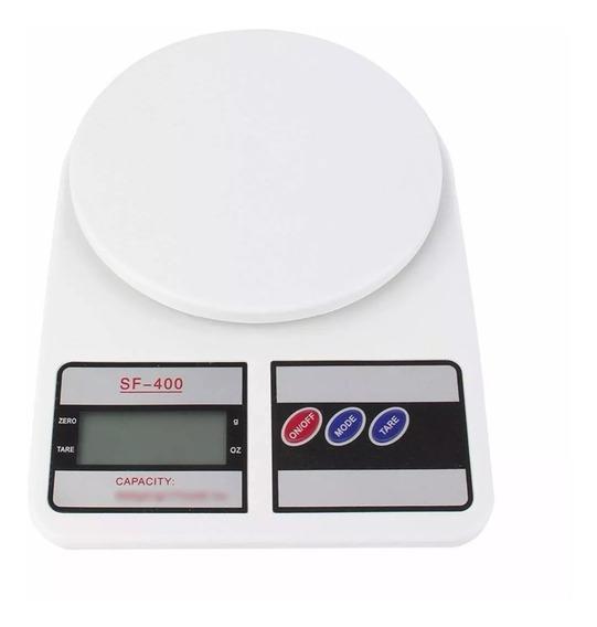 Balança Digital Eletrônica Pesa 1gr Até 10kg Cozinha Sf-400