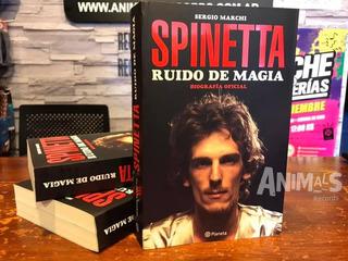 Spinetta Ruido De Magia Biografia Libro Oficial Nuevo