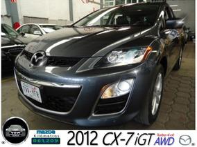 2012 Mazda Cx-7 I Grand Touring Awd, Una Sola Dueña, Fact. O