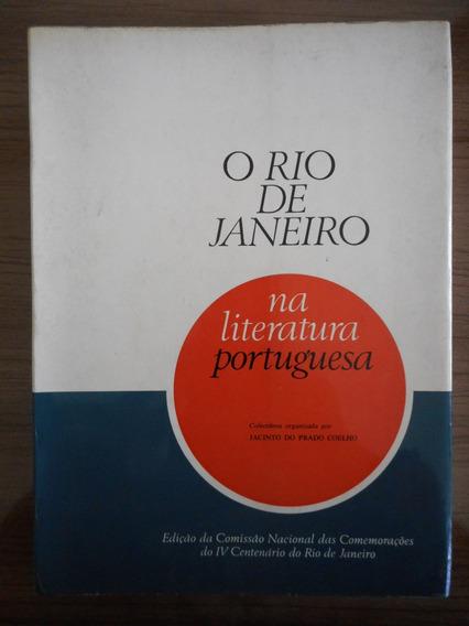 Livro Rio De Janeiro Na Literatura Portuguesa Jacinto Prado