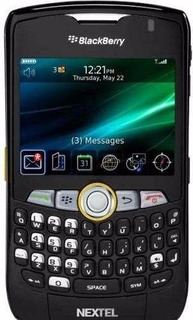 Celular Radio Nextel Blackberry 8350i Sms Desbl Estado Zero