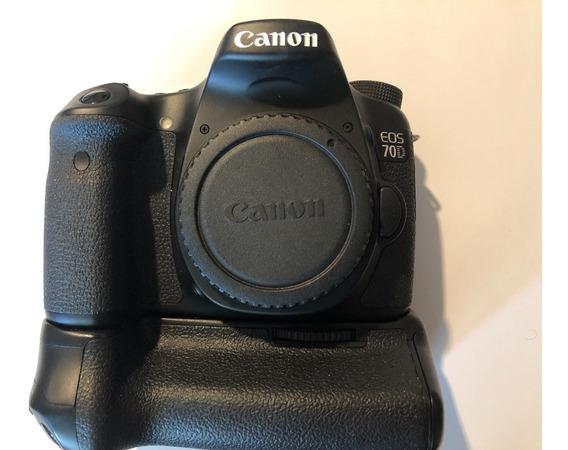 Canon Eos 70d, Grip Canon Original...