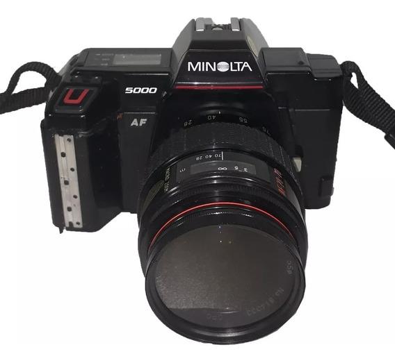 Câmera Fotográfica Minolta 5000 Para Retirada De Peças
