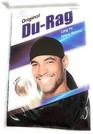 Sueño Du-rag Negro (paquete De 1)