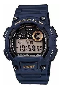 Relógio Casio W-735h-2avdf Masculino Original Com Nota