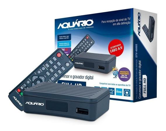 Conversor De Tv Digital Aquário 4g Dtv-4000s