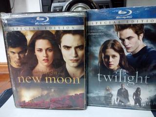 Películas Twilight Y New Moon Originales Blu-ray