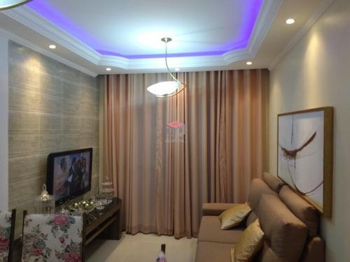 Apartamento À Venda, 3 Quartos, 1 Vaga, Dos Casa - São Bernardo Do Campo/sp - 82636