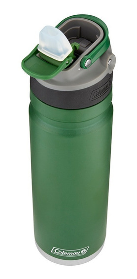 Botella Térmica Coleman Acero Inox. Switch 700ml H. Green