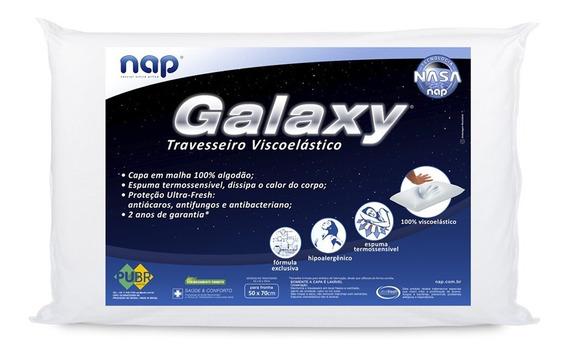 Travesseiro Nasa Nap Galaxy Antialérgico Aproveite!