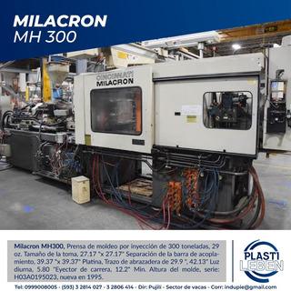 Maquina Inyectora De Plástico - Milacron Mh300