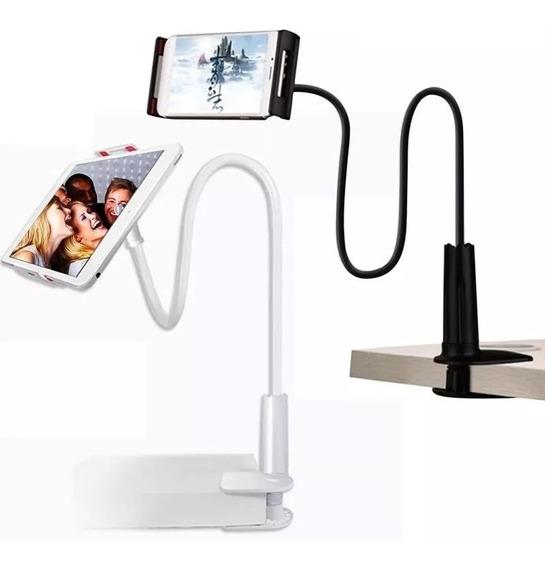 Suporte De Mesa Flexível P/ iPad/tablet/celular Rock X3