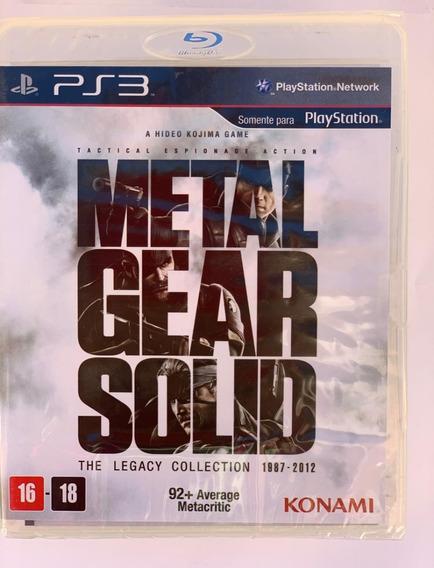 Metal Gear Solid - The Legacy Collection Ps3 -novo-lacrado
