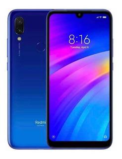 Xiaomi Note 7 64gb Semi Novo Na Cor Azul Sem Detalhes Risco