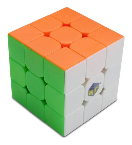 Cubo Mágico 3x3x3 Yuxin Little Magic Colorido Em Estoque