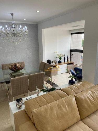 Apartamento Com 3 Dormitórios À Venda, 115 M² Por R$ 800.000 - Vila Prudente (zona Leste) - São Paulo/sp - Ap0130