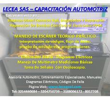 Cursos De Inyección Electrónica Diesel, Diagnostico Y Lab.