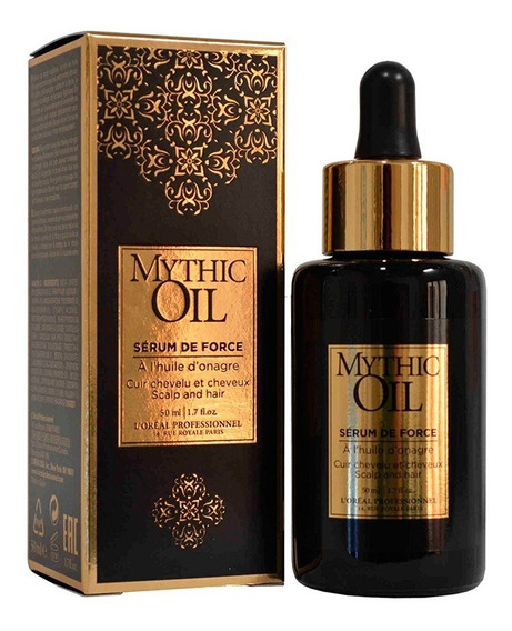 Serum De Force Mythic Oil Loreal 50ml Reparador Fortalecedor