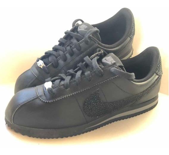Fuera de pegatina carpeta  Zapatillas Nike Cortez Negras Mujer Talle 34 - Zapatillas Nike en Mercado  Libre Argentina