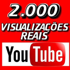 Marketing Youtube! 2.000 Vi-su-al-iz-acões! Reais! Agora