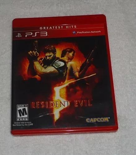 Resident Evil 5 Ps3 * Frete Grátis
