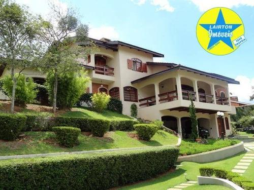Ótima Propriedade À Venda No Condomínio Jardim Flamboyant Em Atibaia Sp - Ca1855