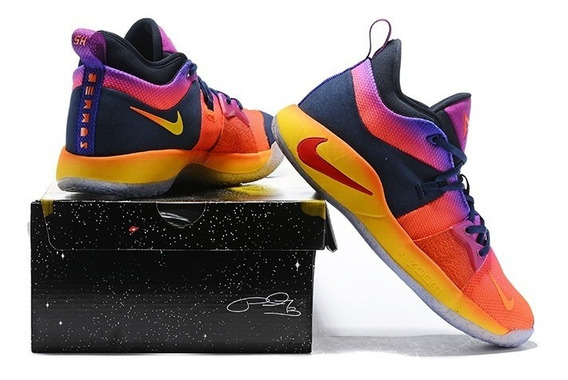 Zapatillas Nike Paul George Pg 2 Summer Multi-color Men