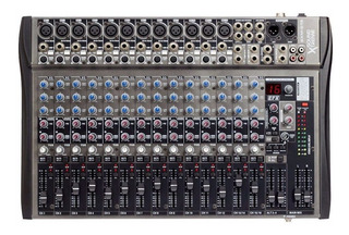 Consola Mixer 16 Canales Soundxtreme Sxm 516 C/ Efectos Cjf