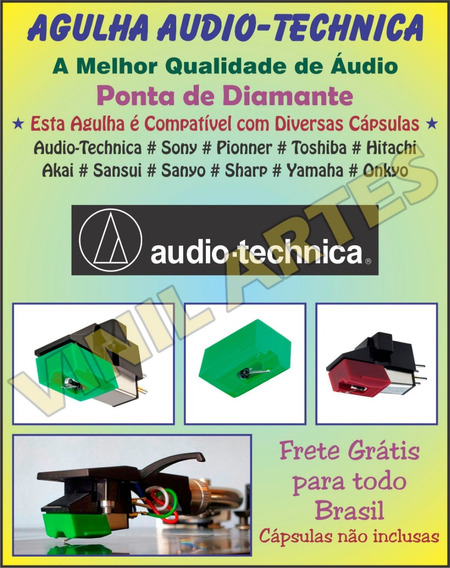 Agulha Audio Technica At95e At95ex At95 Piooner Sony X4