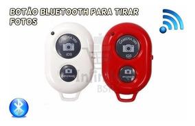 Botão Bluetooth Monopod Pau De Selfie Wireless Tirar Foto