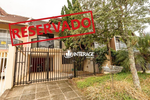 Sobrado Com 3 Dormitórios À Venda, 223 M² Por R$ 620.000,00 - Santa Felicidade - Curitiba/pr - So0264