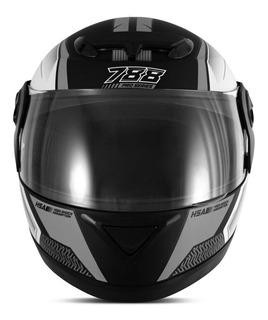 Capacete para moto integral Pro Tork Evolution G6 Pro Series grafite tamanho 58
