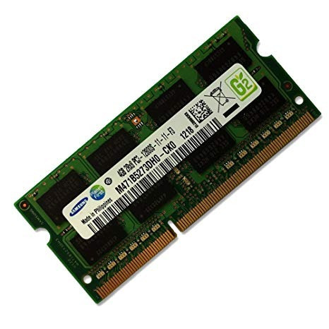 Memória Samsung 4gb Ddr3 1600mhz Pc3 12800s 2rx8 P Notebook