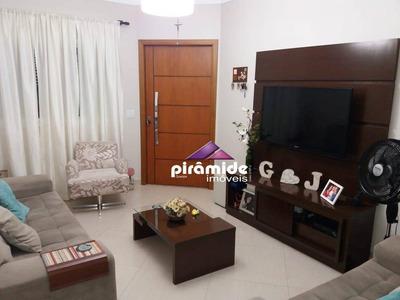 Casa Com 4 Dormitórios À Venda, 144 M² Por R$ 490.000,00 - Jardim Das Indústrias - São José Dos Campos/sp - Ca4562