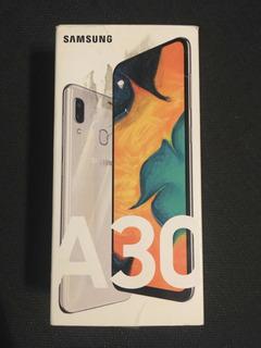 Celular Samsung A30 Dual Sim - 64 Gb - Octa Core- Color Bco