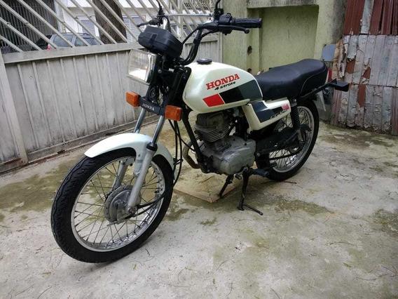Honda Cg Branca 4 Stroke