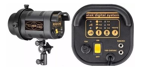Flash Atek Digital At-140d Bivolt