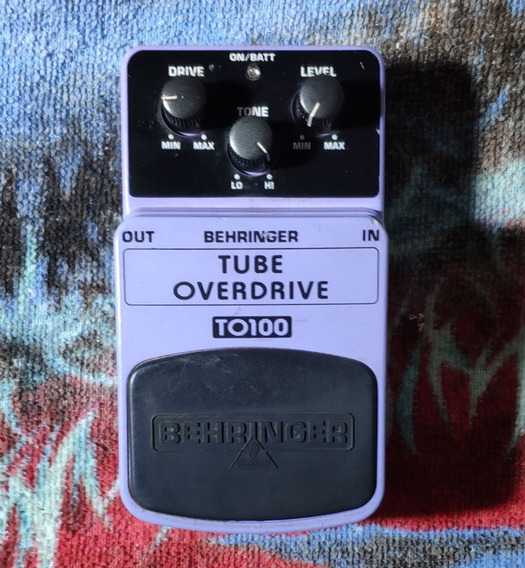 Behringer To100 + Greatone Delay