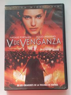V De Venganza ( Dvd Original Seminuevo ) Natalie Portman