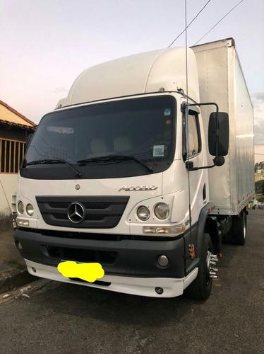 Imagem 1 de 8 de Caminhão 3/4 Mercedes-benz  Accelo 1016 No Baú