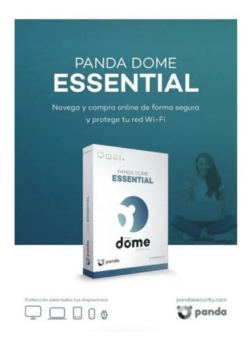 Imagen 1 de 3 de Panda Dome Essential 2021 - 1 Año 1 Equipos Licencia Origina