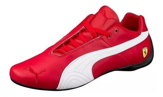 Tênis Sapatilha Puma Ferrari Future Cat Og Couro Vermelho Nf