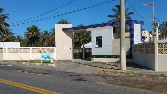 Lote No Cond. Fechado Portal Do Mar, À Beira Mar - Cp5945