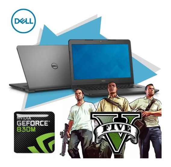 Notebook Dell 3450 Core I7 Hd500 8gb Gamer Muito Barato