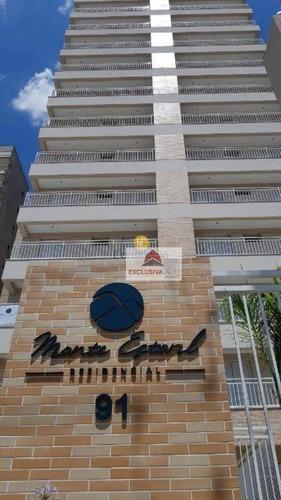 Apartamento Com 2 Dormitórios À Venda, 65 M² Por R$ 335.000 - Bosque Dos Eucaliptos - São José Dos Campos/sp - Ap3095