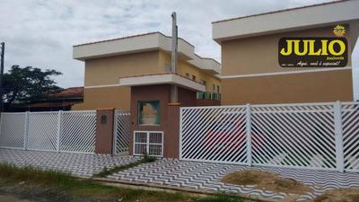 Entrada R$ 39.000,00 + Saldo Super Facilitado, Use Seu Fgts, Sobrado Lado Praia À Venda, Cibratel, Itanhaém - So0670