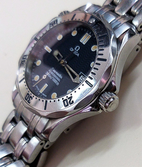 Omega Seamaster - James Bond + Box - Date - 300m - Midsize - Masculino - 41 Mm - 12 X Sem Juros !!!